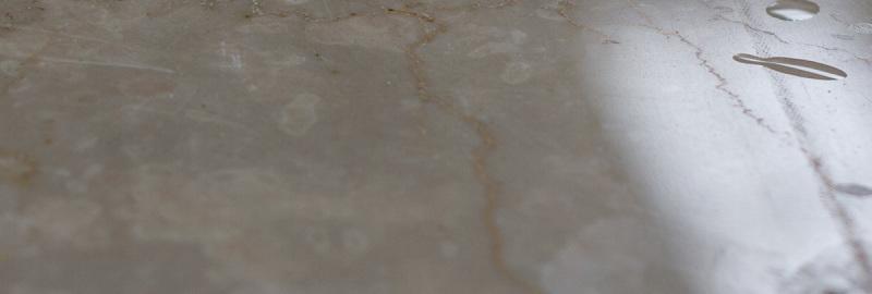 La lucidatura del marmo
